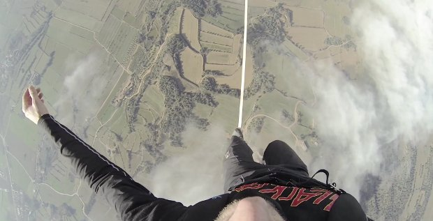 highline funambule montgolfiere sebastien montaz